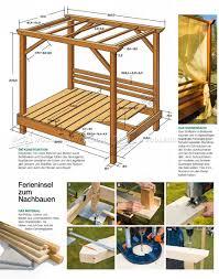 outdoor daybed plans u2022 woodarchivist