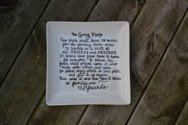 is thanksgiving a paid holiday the giving plate custom serving plate thanksgiving plate