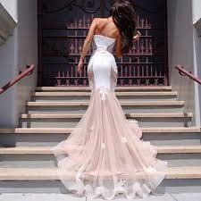 pink wedding dresses vestidos de novia mermaid white and pink wedding dress 2016 lace