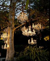 Wedding Chandelier Imagine Chandeliers Like These Lighting Up Your S Outdoor