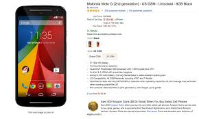 amazon black friday unlocked phone deals deal moto g 2nd gen just 149 at amazon droid life