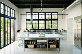 commercial kitchen designs for chefs at home u2013 modern metal solutions