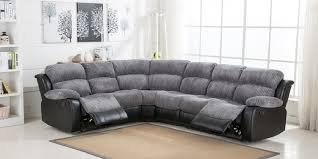 fabric recliner sofas corner recliner sofa fabric sofamoe info