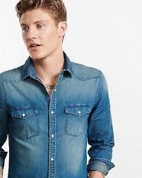 mens button down shirts express