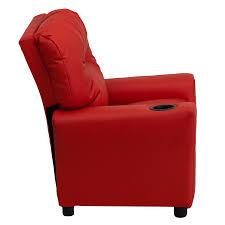 kids recliner sofa amazon com flash furniture contemporary red vinyl kids recliner