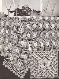Filet Crochet Patterns For Home Decor Vintage Irish Rose Crochet Motif Tablecloth Pattern Crochet