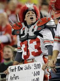 ohio state buckeye fan images ncaa college football playoff chionship game