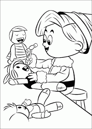 rudolph red nosed reindeer coloring pages