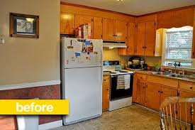 Budget Kitchen Makeovers Before And After - kitchen before u0026 after a super budget kitchen makeover for 500