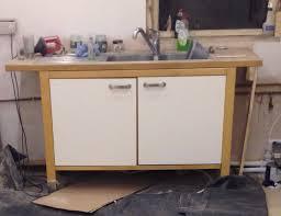 Ikea Varde Freestanding Kitchen Sink Unit With Tap And Waste In - Kitchen sink units ikea