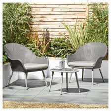 Tesco Bistro Chairs Buy Tesco San Marino Curve 3 Garden Bistro Set From Our