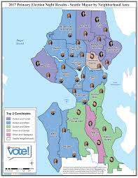 Neighborhoods Seattle Map by How Seattle Voted In The Mayoral Primary U2013 Election Connection