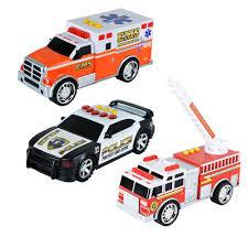 tonka mighty motorized fire truck new fast lane light and sound emergency vehicle set model 6809742