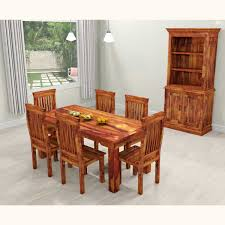 Solid Wood Dining Room Tables Oak Dining Room Sets With Hutch Modest With Photo Of Oak Dining