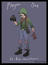 super mario bros characters reimagined hipsters