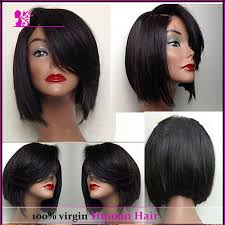 weave bobs with side bangs quick weave swoop bang bob tutorial