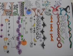 29 best halloween zentangles images on pinterest doodle art