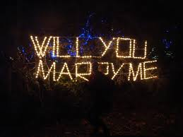 will you marry me signs in lights adventures of a bride to be laura hooper calligraphy