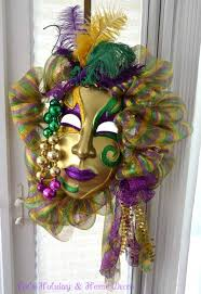 mardi gras deco mesh showcasing friends mardi gras wreaths trendy tree