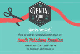 New Office Opening Invitation Card Grand Opening Ceremony For New South Pasadena Office The Rental
