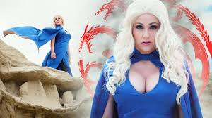 Daenerys Targaryen Costume Game Of Thrones Dragon Cam Daenerys Targaryen Cosplay Showcase