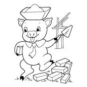 coloring pigs 6048