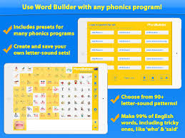 word builder the phonics teaching tool app ranking and store
