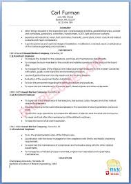 Sample Resume Computer Engineer by Download Marine Engineer Sample Resume Haadyaooverbayresort Com