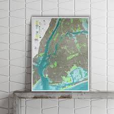 Street Map Of Nyc New York City Street Map Version 1 Paper The Future Mapping