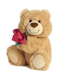 valentines bears world you make me happy plush small toys