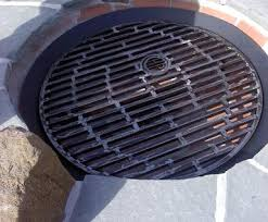 Fire Pit Ring With Grill by Outdoor Fire Pits And Fire Grates