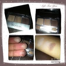 Warna Eyeshadow Wardah Yang Bagus wardah eyeshadow seri g dan b