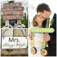 Mr And Mrs Sign For Wedding Rustic Wedding Mr And Mrs Signs Uniquely Yours Wedding Invitation