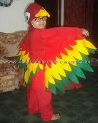Halloween Costumes Parrots Super Crafty Halloween Costumes U2014 Updated Parrot Costume