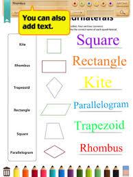 all worksheets kites geometry worksheets printable worksheets