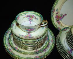 antique kpm china set sold on ruby
