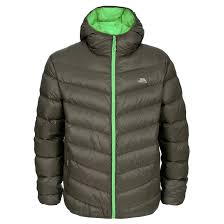 trespass stormer men s winter coat with hood warm padded down