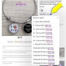 personalized charms bulk create your own personalized rodan fields logo charm bracelet bulk