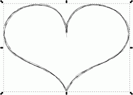 photos simple heart sketch drawing art gallery