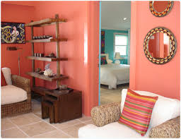 Coral Room Coral Walls With Tan Bedding Turquoise Aqua With - Coral color bedroom
