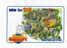 Worlds Of Fun Map by Worlds Of Fun Org August 2010