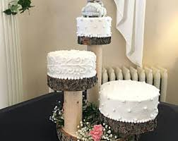3 tier wedding cake stand 3 tier cake stand etsy