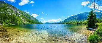 slovenia lake lake bohinj slovenia paradise for nature lovers