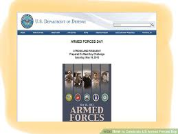how to celebrate us armed forces day 6 steps with pictures