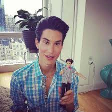 barbie meets ken doll