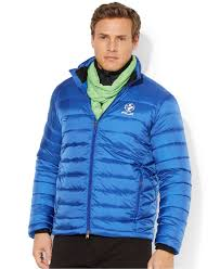 Big And Tall For Mens Clothes Polo Ralph Lauren Big And Tall Ac Explorer Down Jacket In Blue For