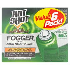 Bed Bug Fogger Shot Fogger Bedbug U0026 Flea Insecticide 2 Oz 3 Ct Walmart Com