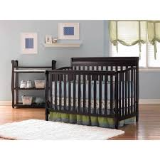 Convertible Crib To Toddler Bed by Bedroom Cozy Brown Wood Baby Cribs At Walmart With Nightstand And