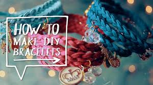 braided charm bracelet images Diy charm bracelts how to make diy wrap braided charm bracelets jpg