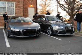 2015 audi rs4 breaking audi rs 4 avant spotted in the usa audi